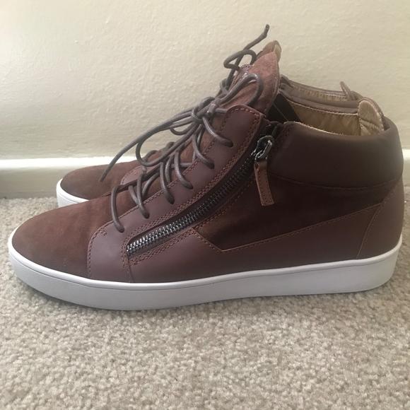 80332295117f8 Giuseppe Zanotti Shoes   Mens Hightop Sneakers   Poshmark